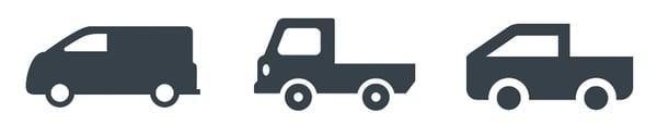 3 vehicles