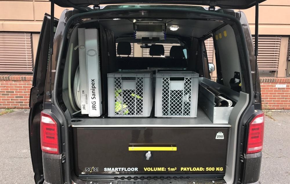 Smartfloor ekstra utstyr