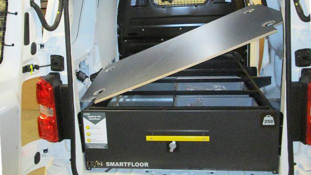 Smartfloor montering Proace L0