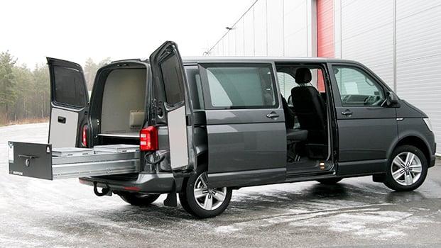 Smartfloor-Volkswagen-Transporter-Dobbel-Cabin