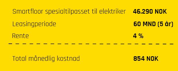 SmartfloorX_Leasingregnestykke_elektriker