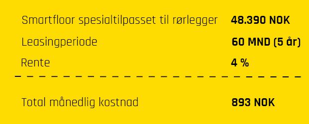 SmartfloorX_Leasingregnestykke_rørlegger