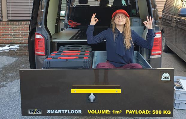 Smartfloor Transporter