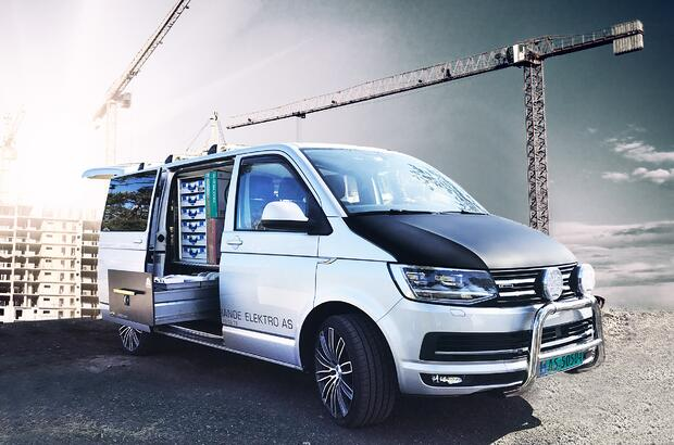 Volkswagen T6 styling ekstrautstyr pimpe varebilen smartfloor