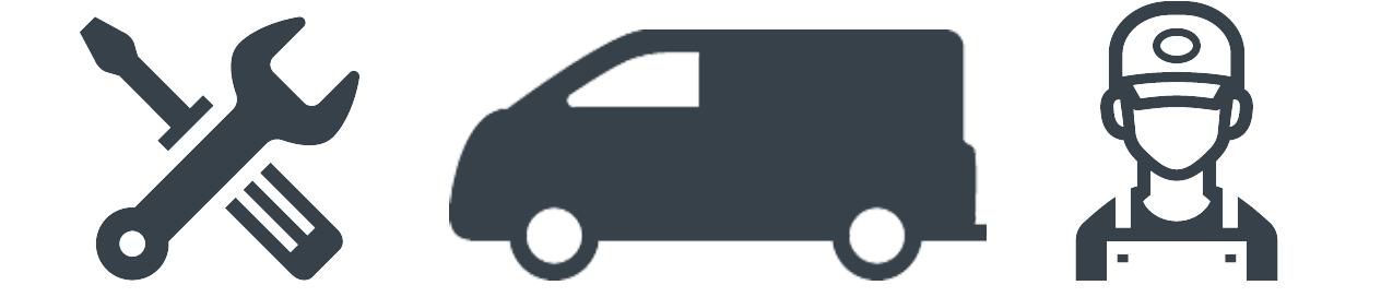 verksamhetsanpassad bilinredning ikoner
